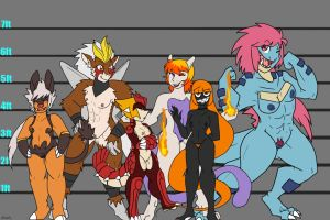 Pokemorph Character Height Chart1 by Inkblot-Rabbit