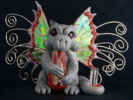 Custom Deluxe Pixie Dragon by The-GoblinQueen