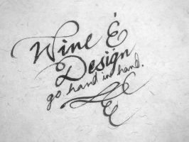 Wine and Design by AxnAkshan