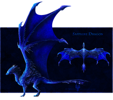 $.Sapphire.$ - Gem Dragon for Sale! [OPEN] by Diterkha