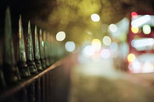 Ah, a Fence and Some Bokeh by l33tc4k3