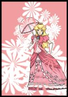 Princess Peach by duzie-wuzie