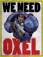 Space Oxel by SupaCrikeyDave