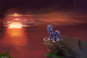 twilight luna by 1deathPony1