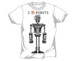 I LOVE ROBOTS by PaulSizer