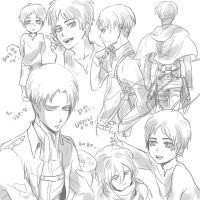 AoT - Doodles by tifl429