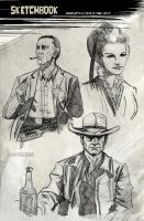 Once Upon A Time In The West 2 by CartoonCaveman