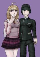 Ndrv3 Protagonist Squad by Morenclose001