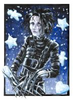 Edward Scissor Hands by tifachan