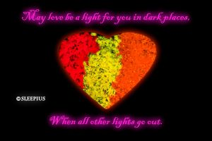 Let Love Be Your Light by Sleepius