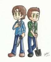 The Winchesters by Inamkur