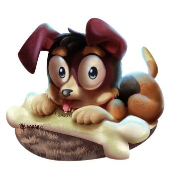 Beagle Puppy 2 by Daughter-of-Fantasy