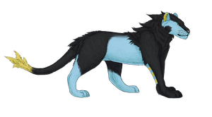 Luxray by bubblewrap-pancakes