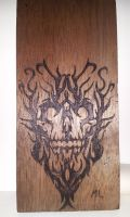 Tribal style skull by legetech