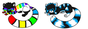 red panda adopts closed by AionysPointAdoptable