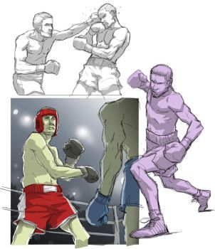 Warmup Knuckle Up by ifesinachi