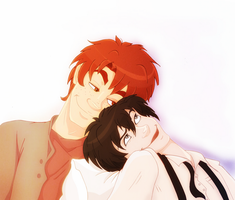 Fred x Nox: shoulder to lean on by Weasley-Detectives