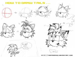 "How to draw ""Tails""... by TomfromHun"