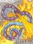Fire Snake by frowzivitch