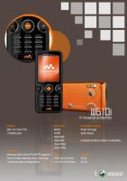 Walkman Phone Catalogue-W610i by muffy1986