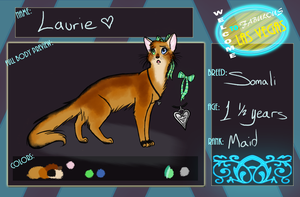 TVL- Laurie Application by KylieKattu