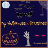 Halloween Kid Brushes by LysNw