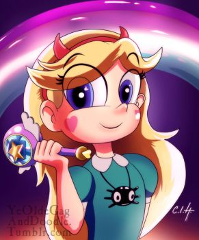 Star Butterfly by TwoStripTechnicolor