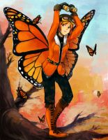 Monarch Butterfly by EtherPanic