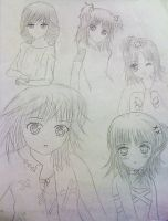 Shugo Chara Sketches by carolin36v