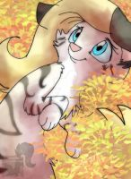 Warm Leaves by JB-Pawstep