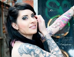 Hayley - Tattoo Shots VI by paradoxphotography