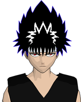hiei cel-shaded 4 by GAME-ART-EDITED-ART