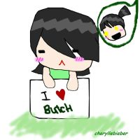 Buttercup Loves Butch by charyllebieber
