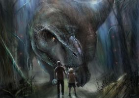 My Jurassic World Concept by Shaatish