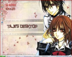 Vampire Knight Desktop by Tajii-chan
