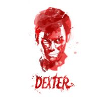 Dexter in Blood by willfat