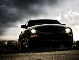 Ford Mustang by M0ein