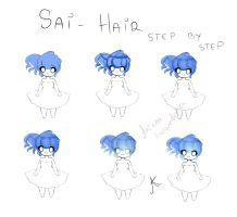SAI - Hair coloring step by step by Angie-Jagger