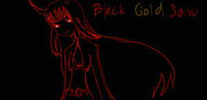 Black Gold Saw by Monkesara