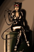 Catwoman by Flocco