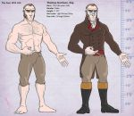 Tom Harrison character sheet by saylem