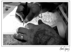 Hands at work by mvaguero