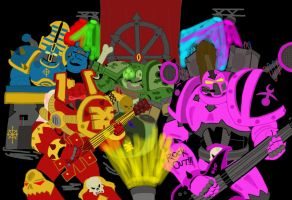 Chaos ROCKS now in color by eightball6219