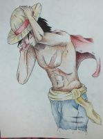 One Piece FanArt - Luffy by Xirman