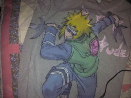 Naruto 4th Hokage Shirt by sanchez2007