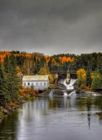 Autumns Falls by HeatherWaller-Rivet