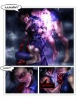Evil ryu vs chun li pg 5 by Tree-ink