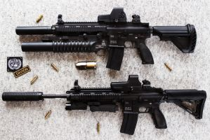 HK416 - Heckler+Koch Rifle STOCK by PhelanDavion