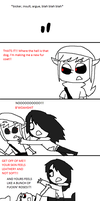 LIKE FUCKING SANDPAPER!! by Ask--Ben--Drowned