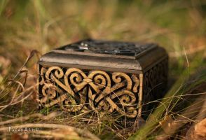Front of Scandinavian box by pagan-art